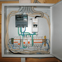 Монтаж, установка, замена, ремонт электрического щитка в Новодвинске. Ремонт электрощита Новодвинск. Индивидуальный квартирный электрощит в Новодвинске
